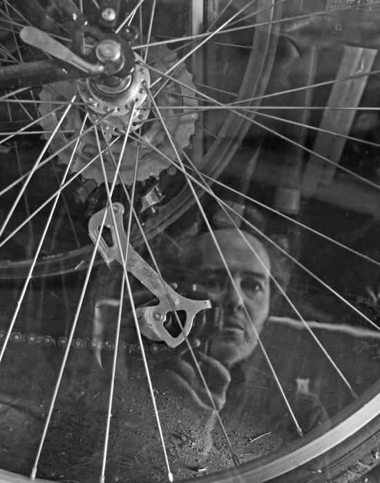 Self-Portrait With Bicycle
